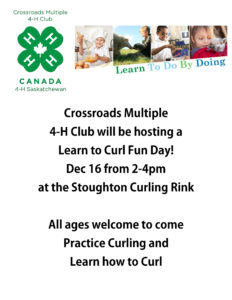 Learn to Curl Fun Day @ Stoughton Curling Rink