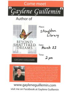Gaylene Guillemin Author Signing @ Stoughton Public Library