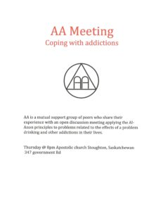 AA Meeting @ Stoughton Apostolic Church