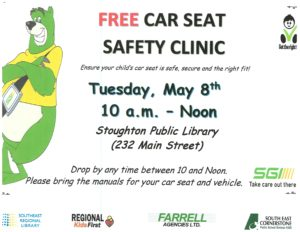 Car Seat Safety Clinic @ Stoughton Public Library
