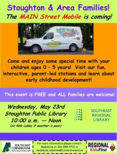 MAIN Street Mobile @ Stoughton Public Library