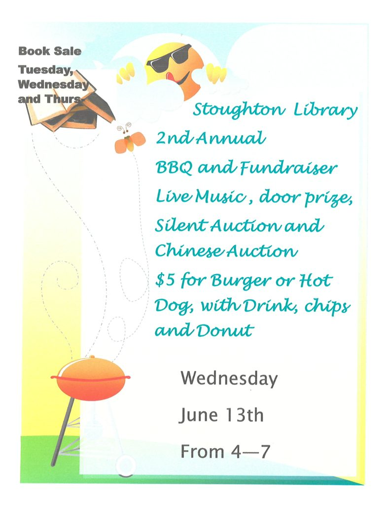 2nd Annual BBQ @ Stoughton Public Library