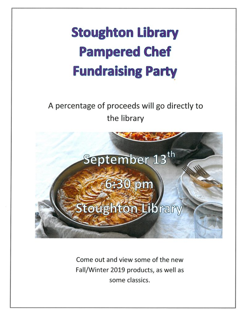 Pampered Chef Fundraiser @ Stoughton Public Library